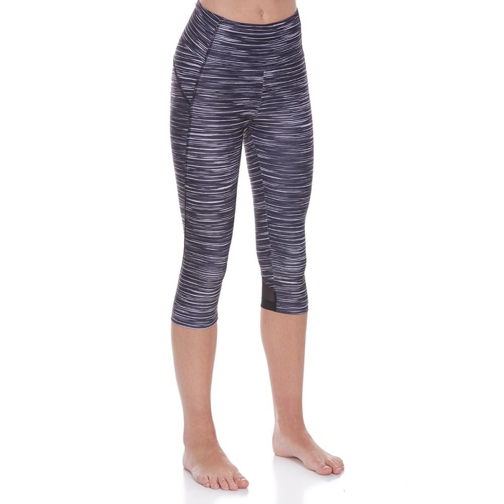 BALLY Women's Momentum High-Rise Capri Leggings - BLACK-0EF