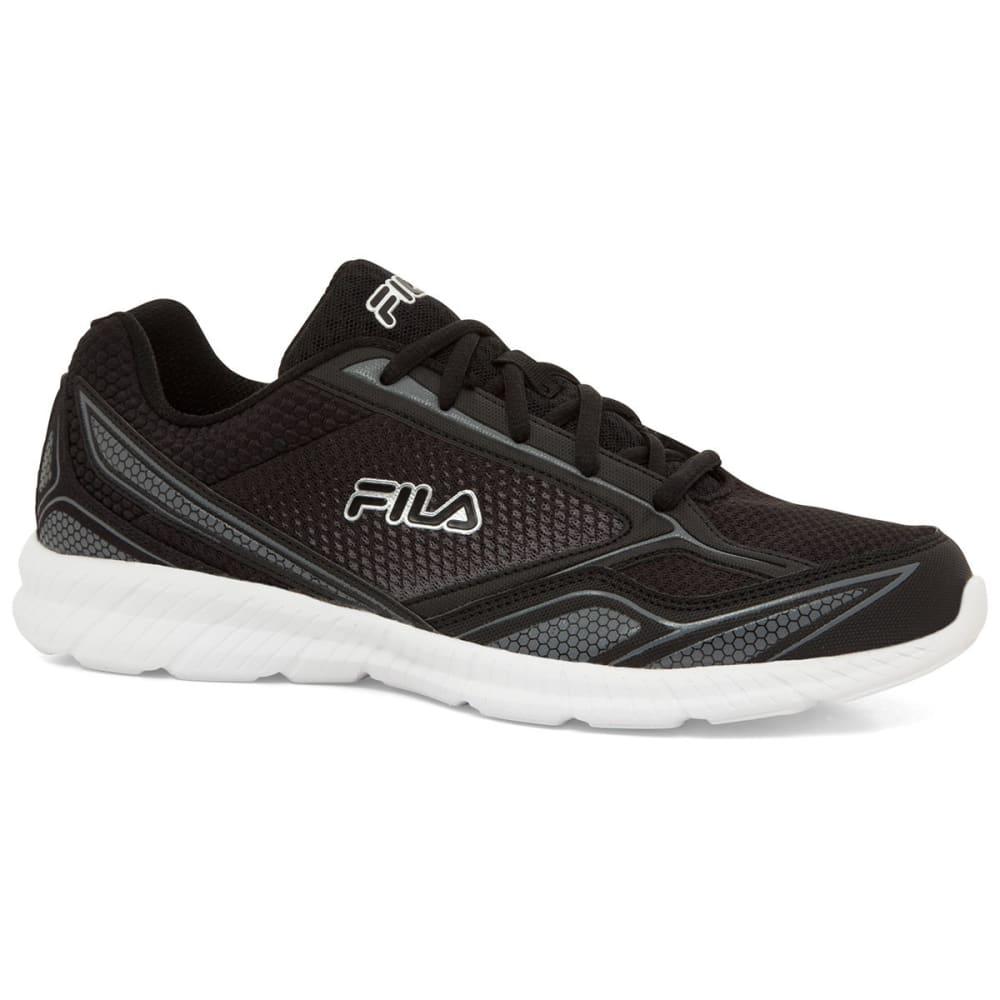 FILA Men's Memory Deluxe 17 Sneakers - BLK/WHT