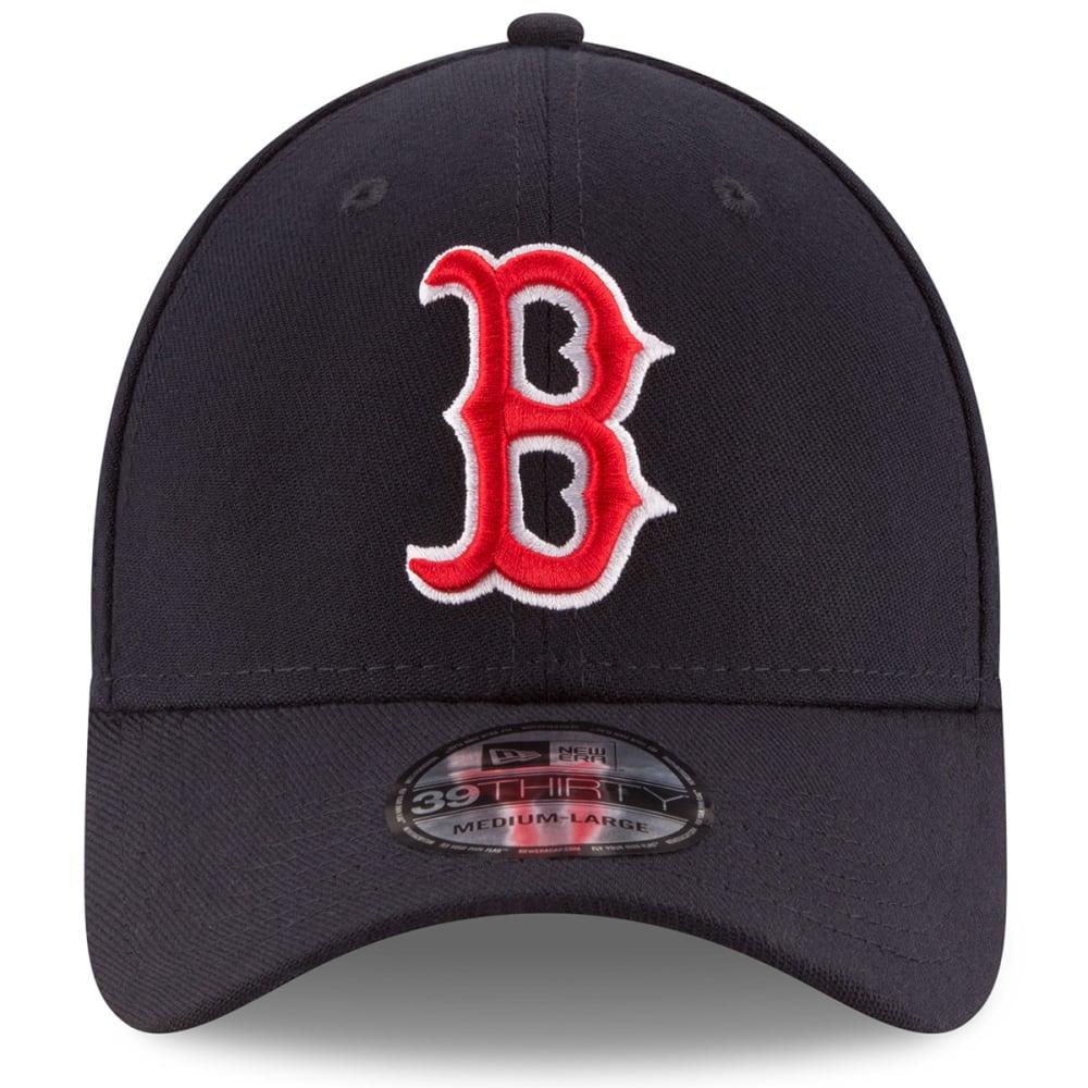 BOSTON RED SOX Men's Team Classic 39Thirty FlexFit Cap - NAVY