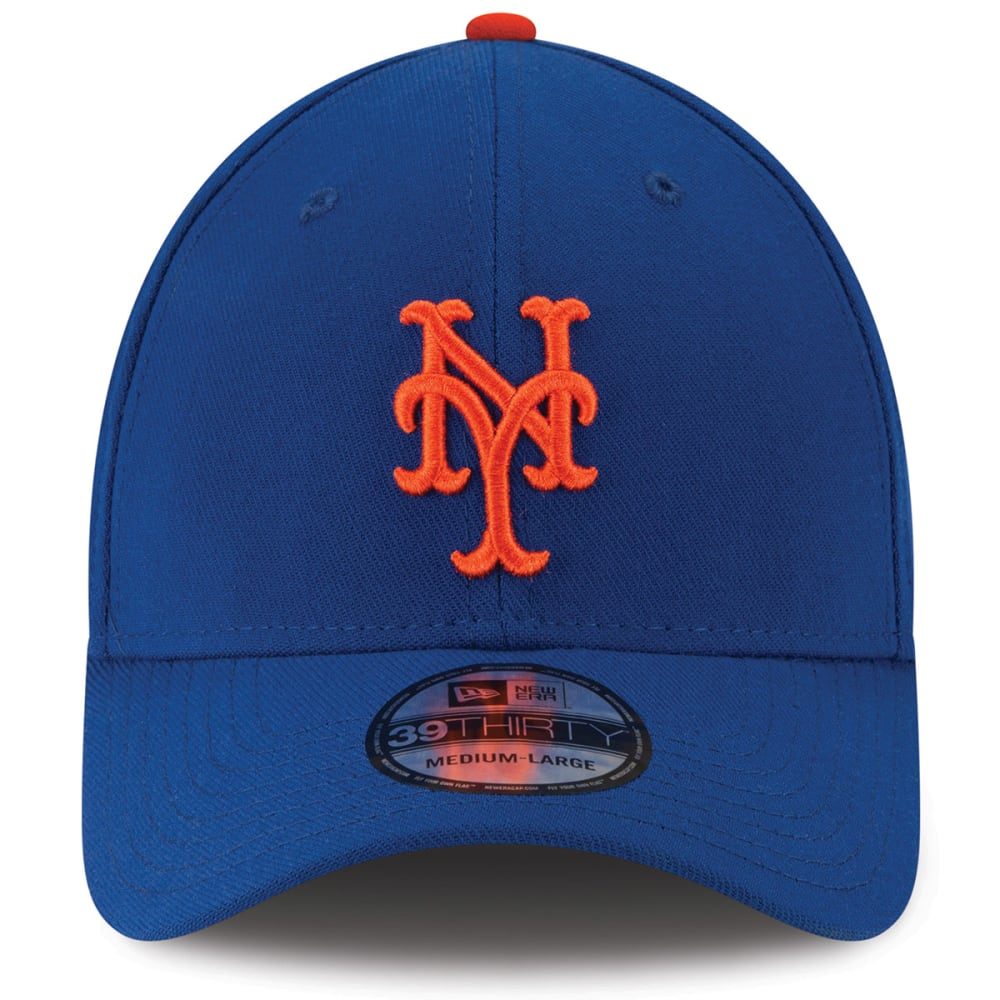 NEW YORK METS Men's Team Classic 39Thirty FlexFit Cap - ROYAL BLUE