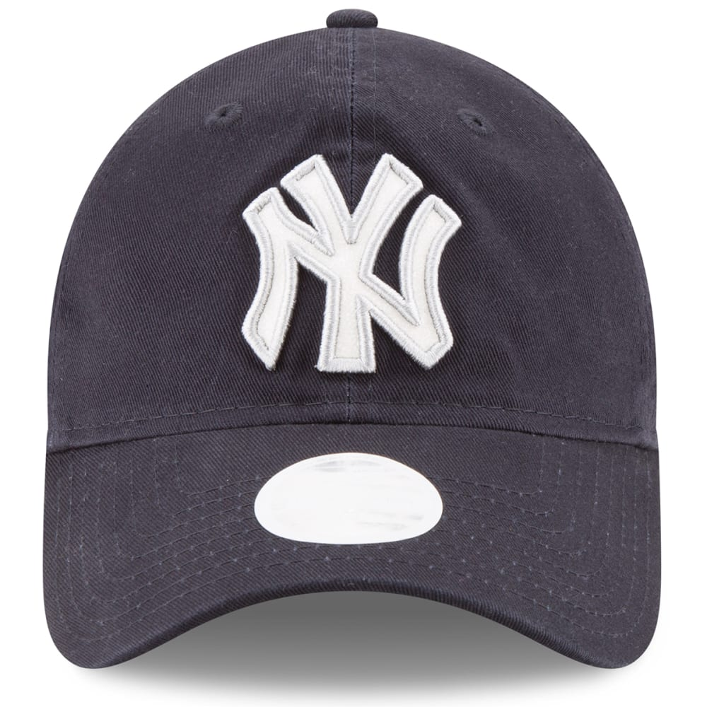 NEW YORK YANKEES Women's Team Glisten Adjustable Hat - NAVY