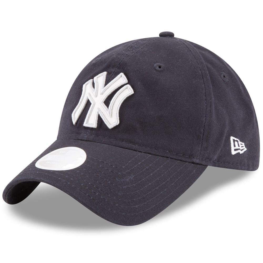 NEW YORK YANKEES Women's Team Glisten Adjustable Hat - NAVY