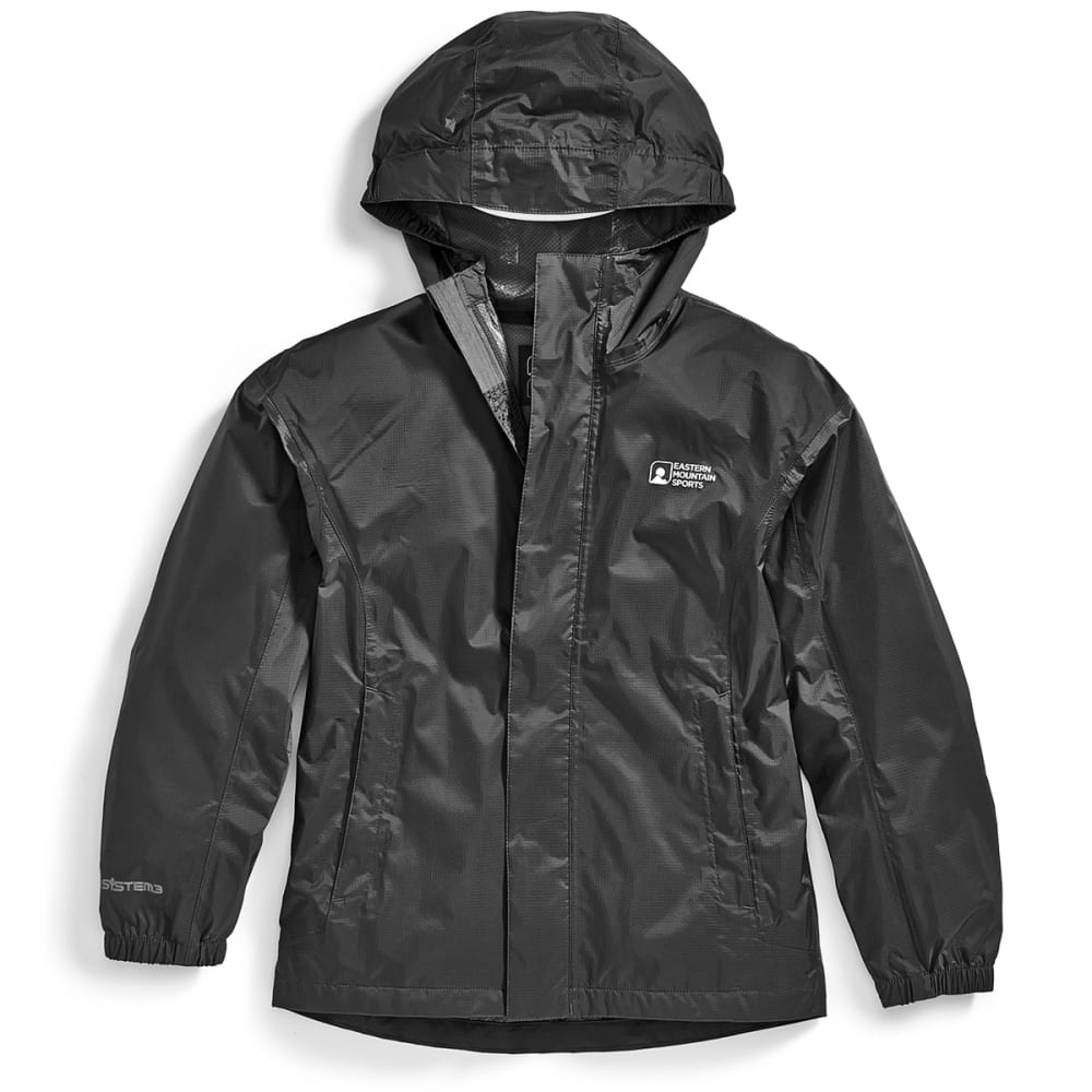 Ems(R) Kids Thunderhead Rain Jacket - Black, XS