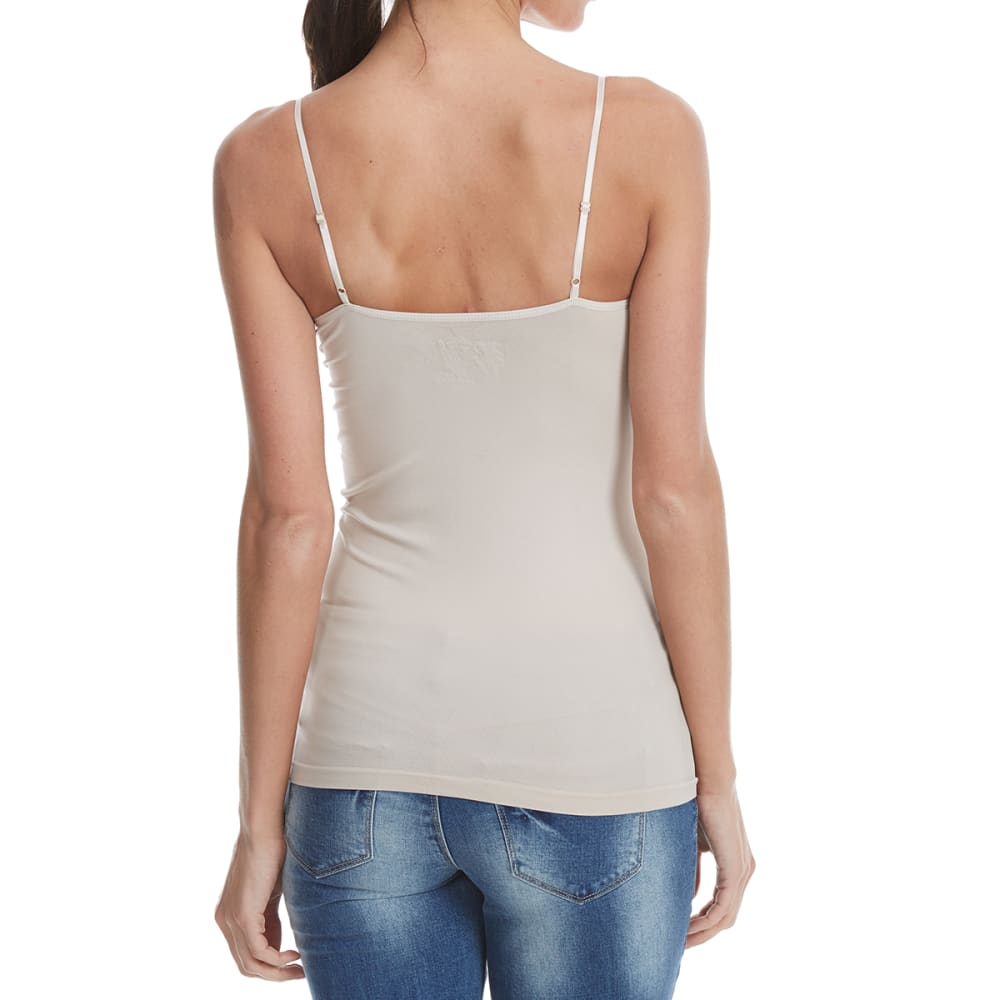 POOF Juniors' Seamless soft Cup Cami - SOFT LATTE