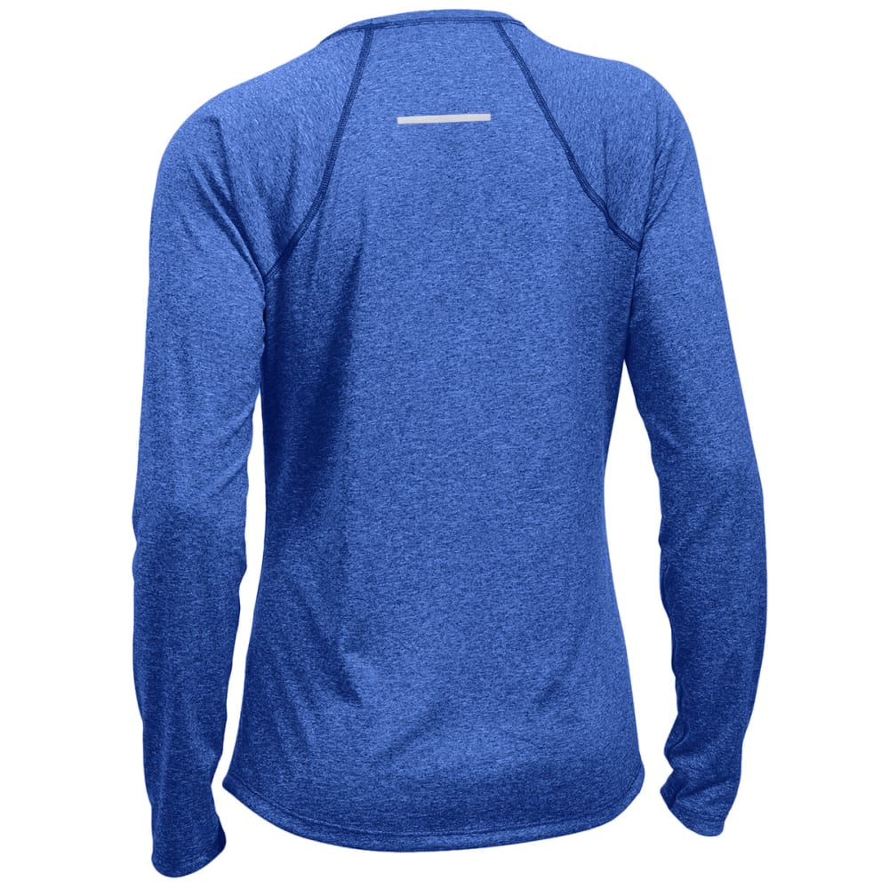 EMS Women's Techwick Essence Crew Long-Sleeve Shirt - MAZARINE BLUE HTR