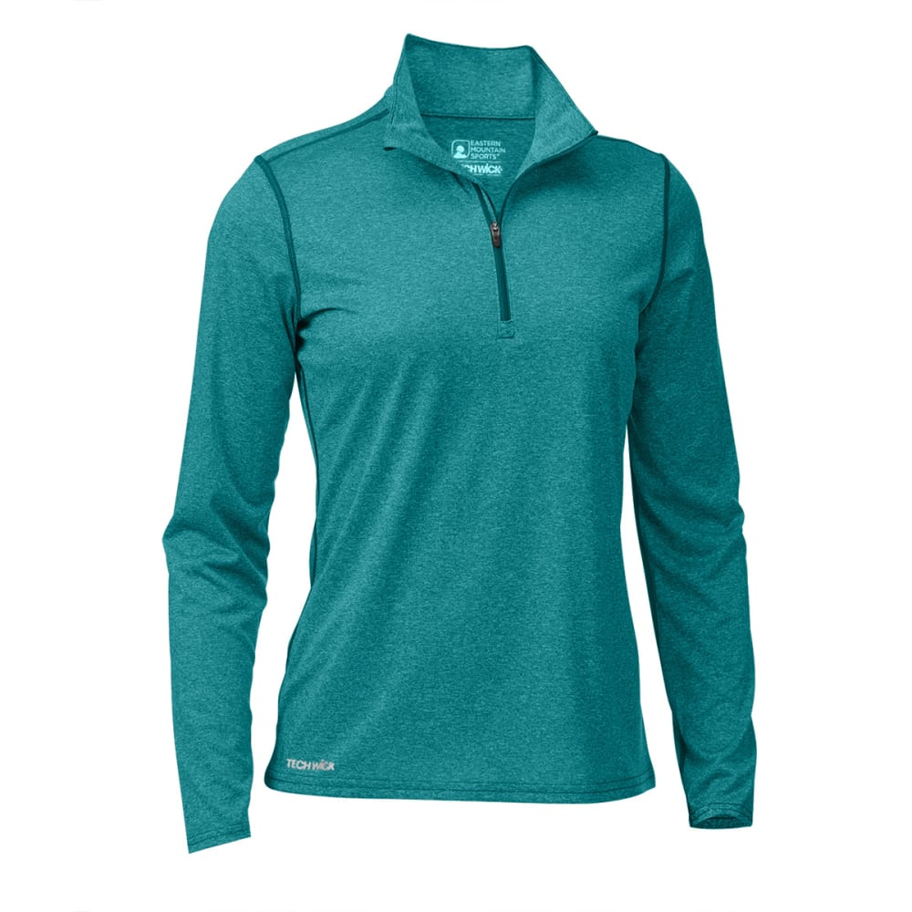 Ems(R) Women's Techwick(R) Essence  1/4 Zip - Green, M