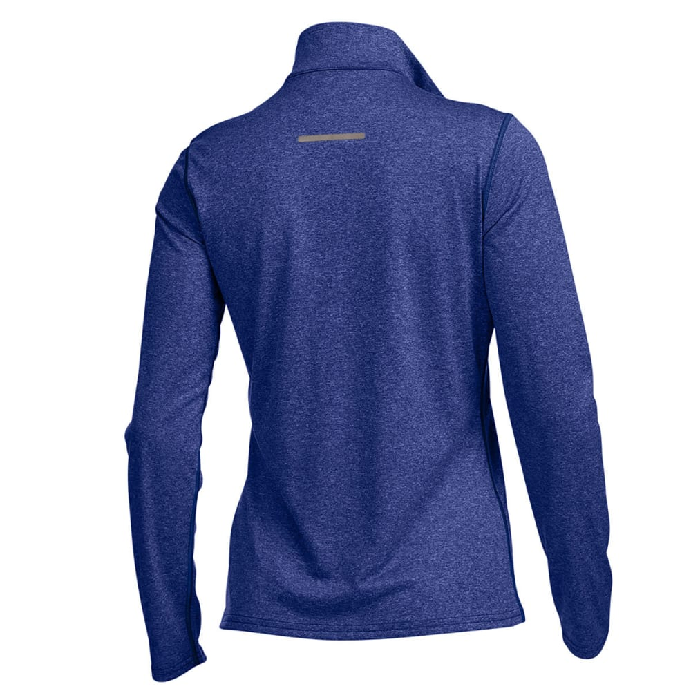 EMS Women's Techwick Essence 1/4  Zip - MAZARINE BLUE HTR