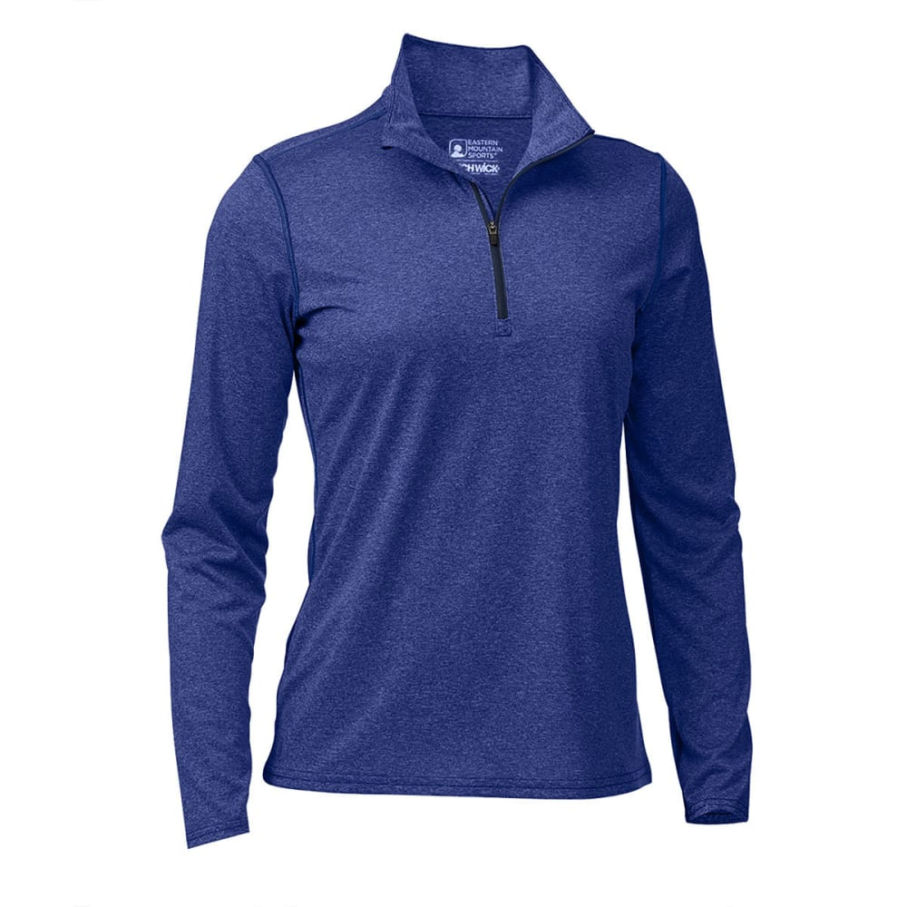 EMS® Women's Techwick® Essence ¼ Zip - MAZARINE BLUE HTR