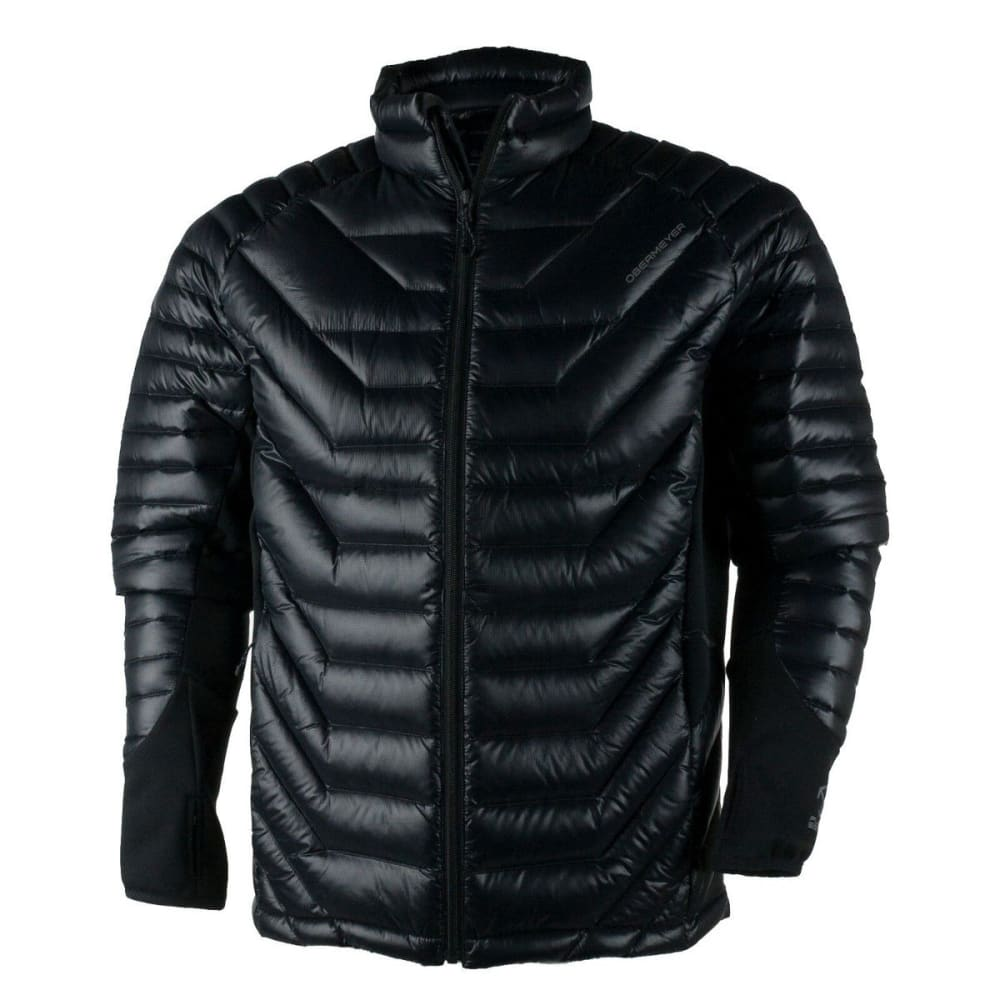 OBERMEYER Men's Kinetic Down Hybrid Jacket - BLACK