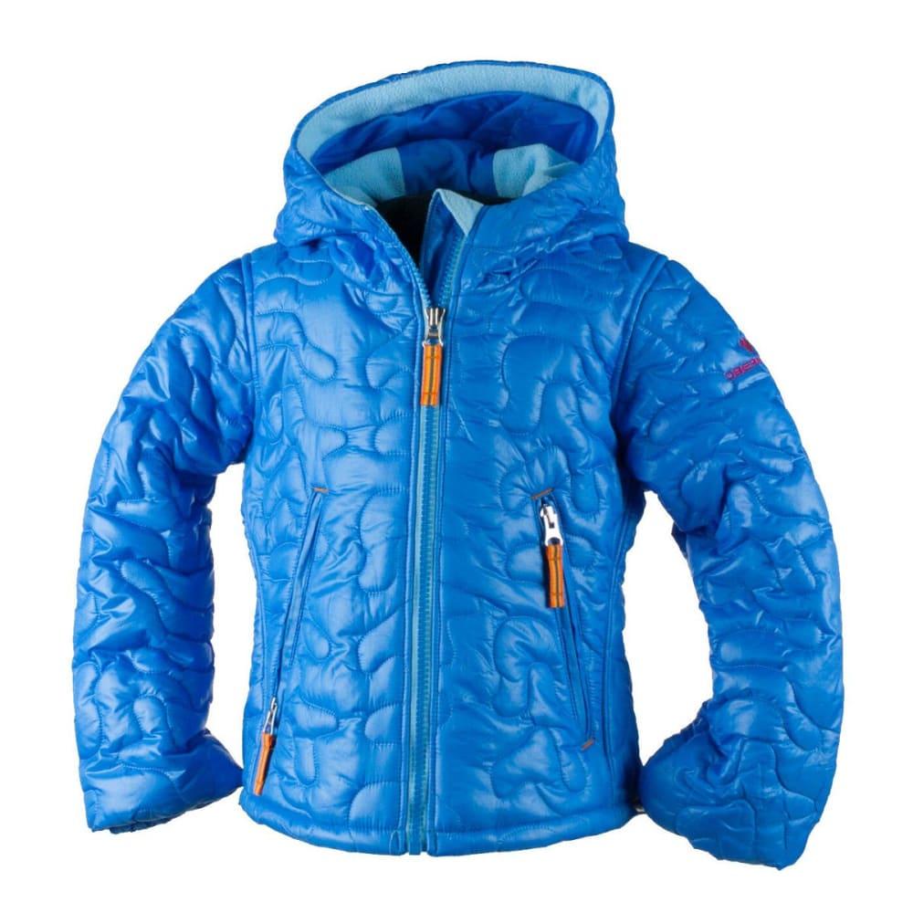 OBERMEYER Girls' Comfy Jacket - CORNFLOWER