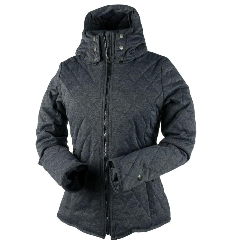 OBERMEYER Women's Desiree Insulator Jacket - DARK HEATHER GREY