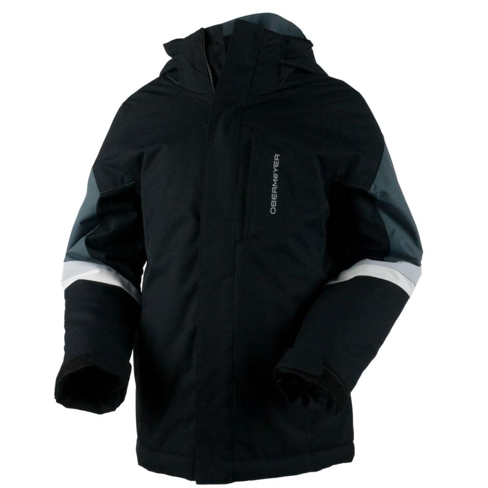 OBERMEYER Boys' Fleet Jacket - BLACK