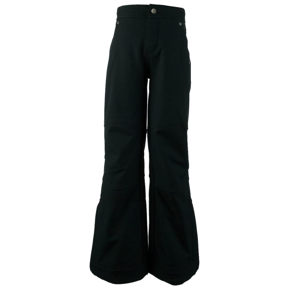 OBERMEYER Girls' Jolie Softshell Pant - BLACK