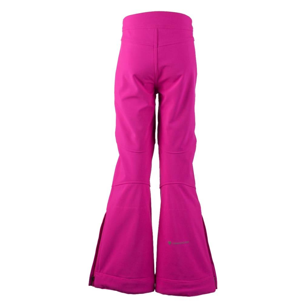 OBERMEYER Girls' Jolie Softshell Pant - ELECTRIC PINK