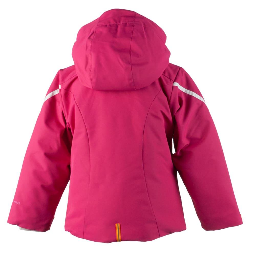 OBERMEYER Girls' Leyla Jacket - GLAMOUR PINK