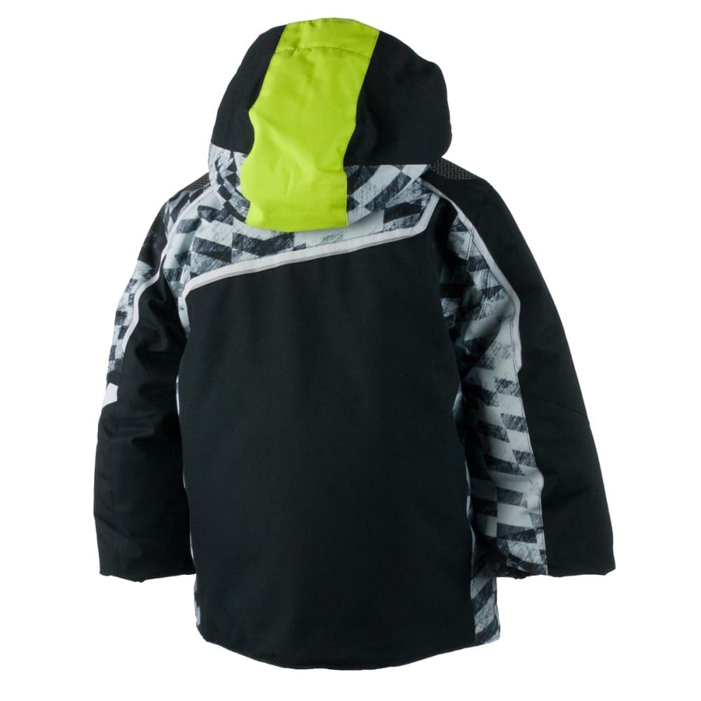 OBERMEYER Boys' Tomcat Jacket - BLACK