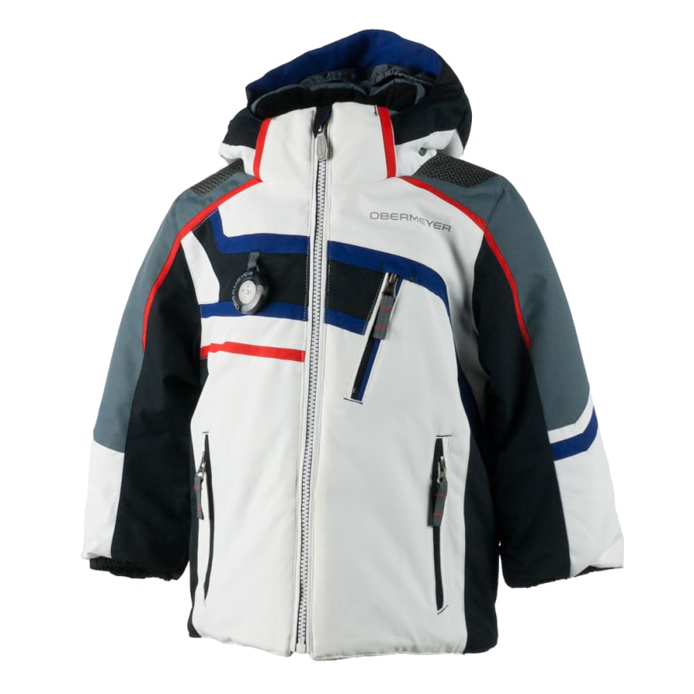 OBERMEYER Boys' Tomcat Jacket - WHITE