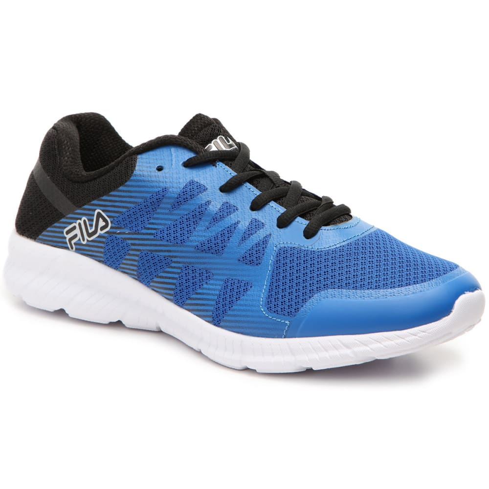 FILA Men's Memory Finity Running Shoes, Royal/Black - ROYAL BLUE