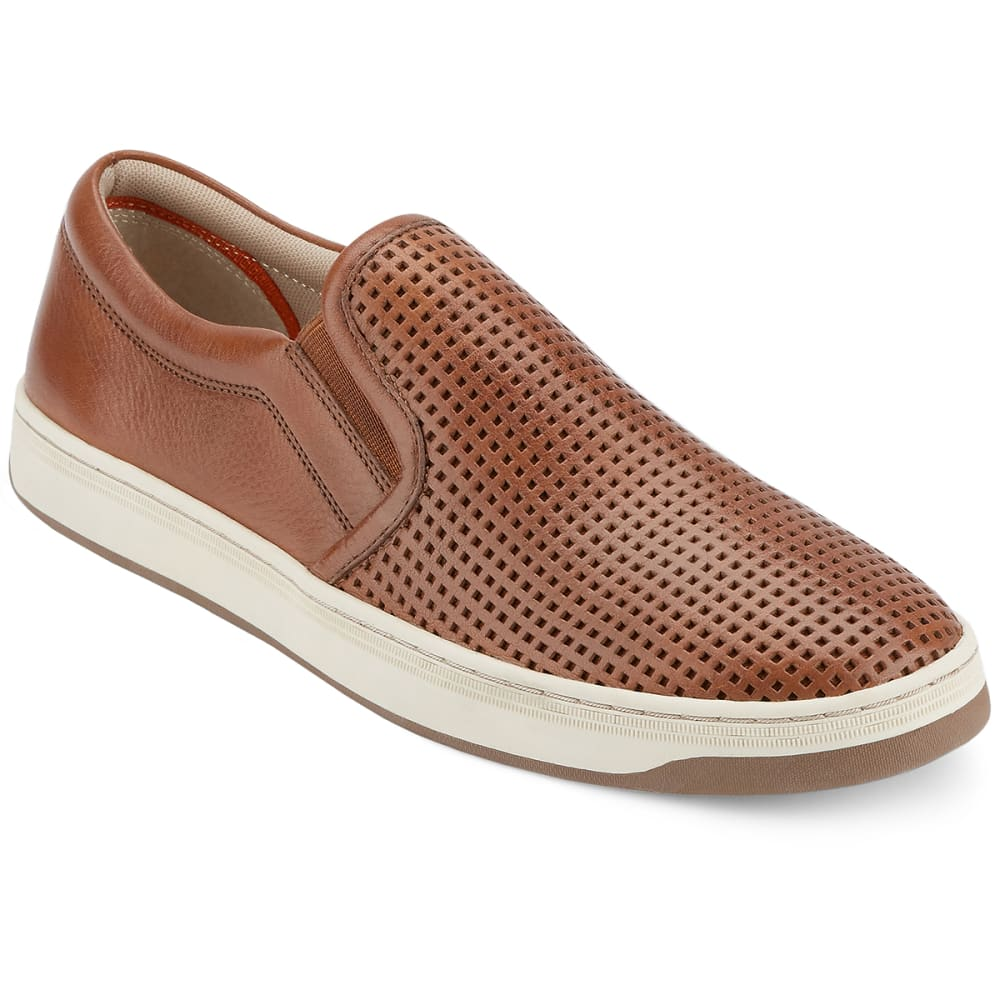 DOCKERS Men's Norcross Slip-On Casual Shoes, Cognac - COGNAC