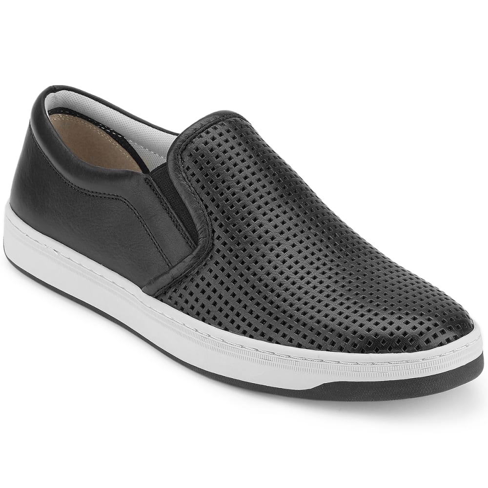 DOCKERS Men's Norcross Slip-On Casual Shoes, Black - BLACK