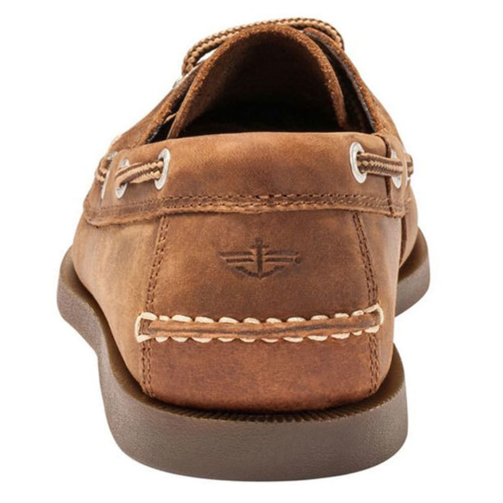 DOCKERS Men's Vargas Boat Shoes, Rust - RUST