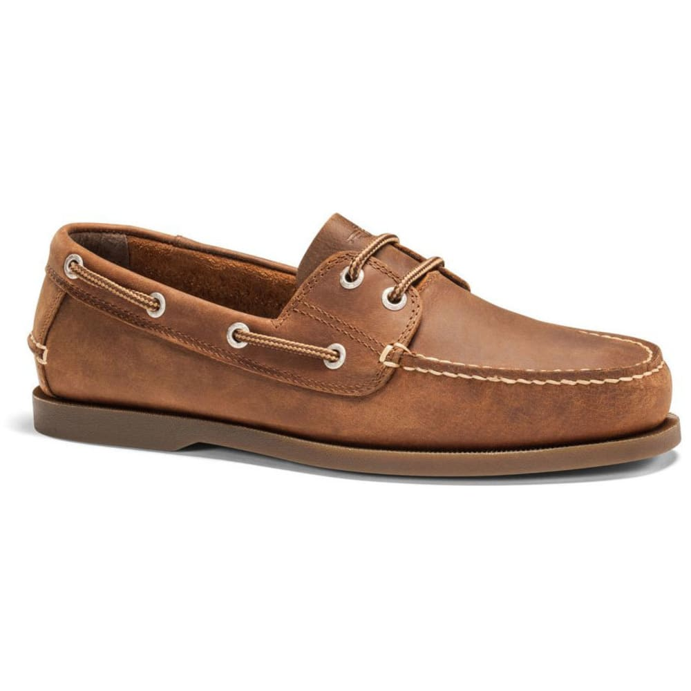 Dockers Men's Vargas Boat Shoes, Rust - Brown, 8
