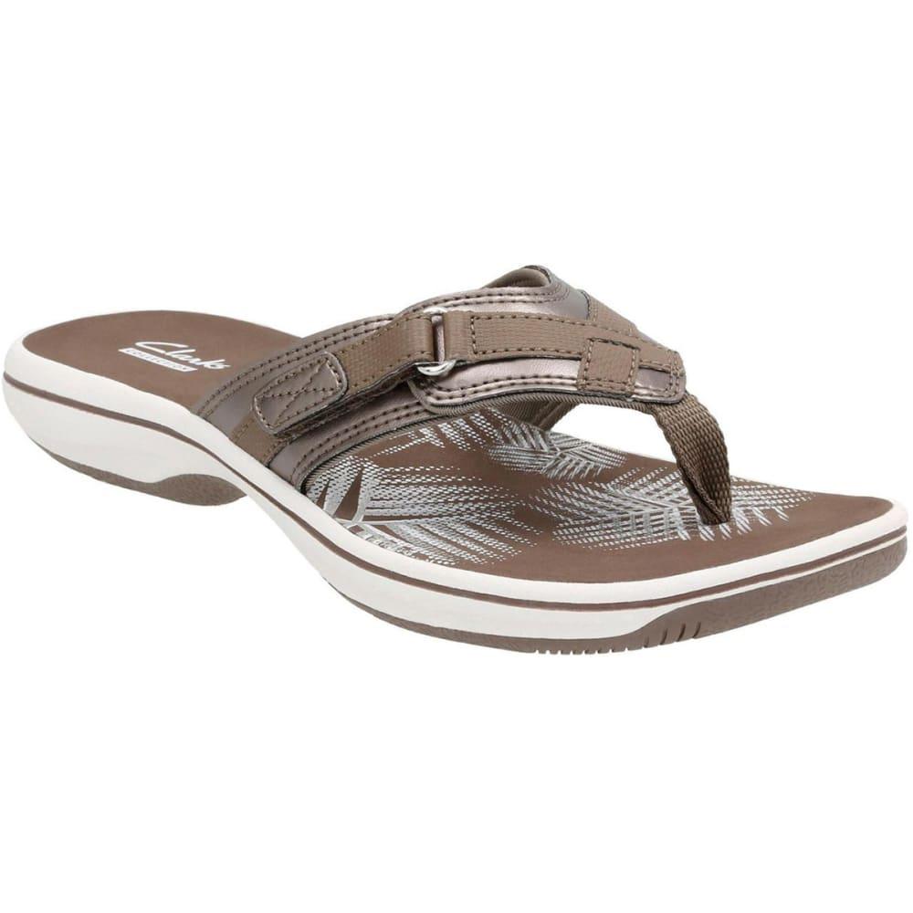CLARKS Women's Breeze Sea Sandals 6