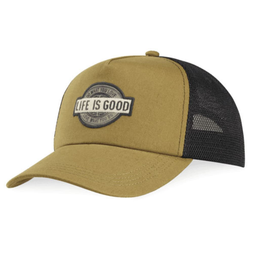 LIFE IS GOOD Do What You Love, Love What You Do Mesh Back Chill Cap - WOODLAND GREEN