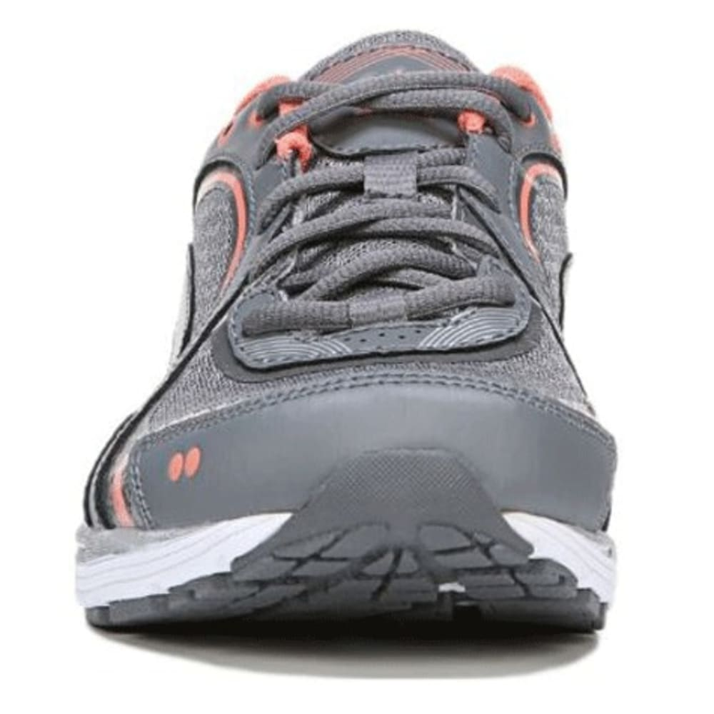 RYKA Women's Sky Walk Walking Shoes, Wide - LION GREY/FROST GREY