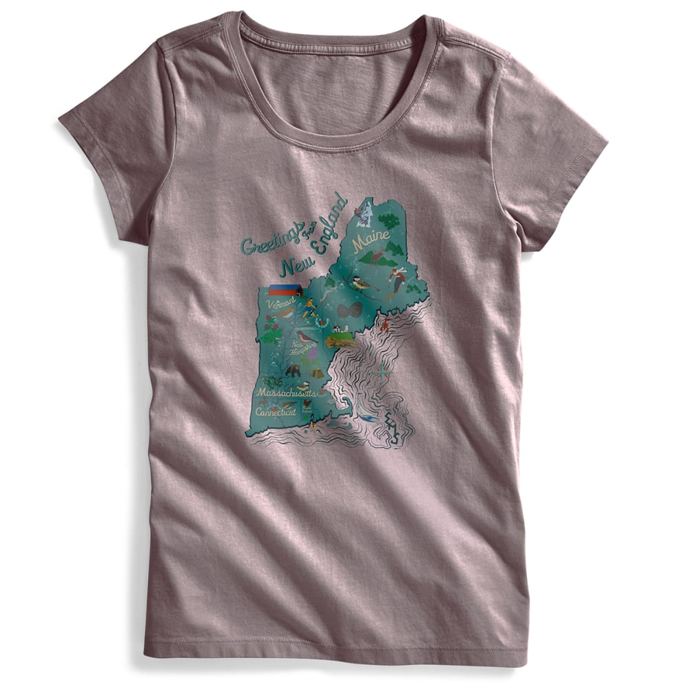 EMS® Women's Visit New England Graphic Tee - SPARROW