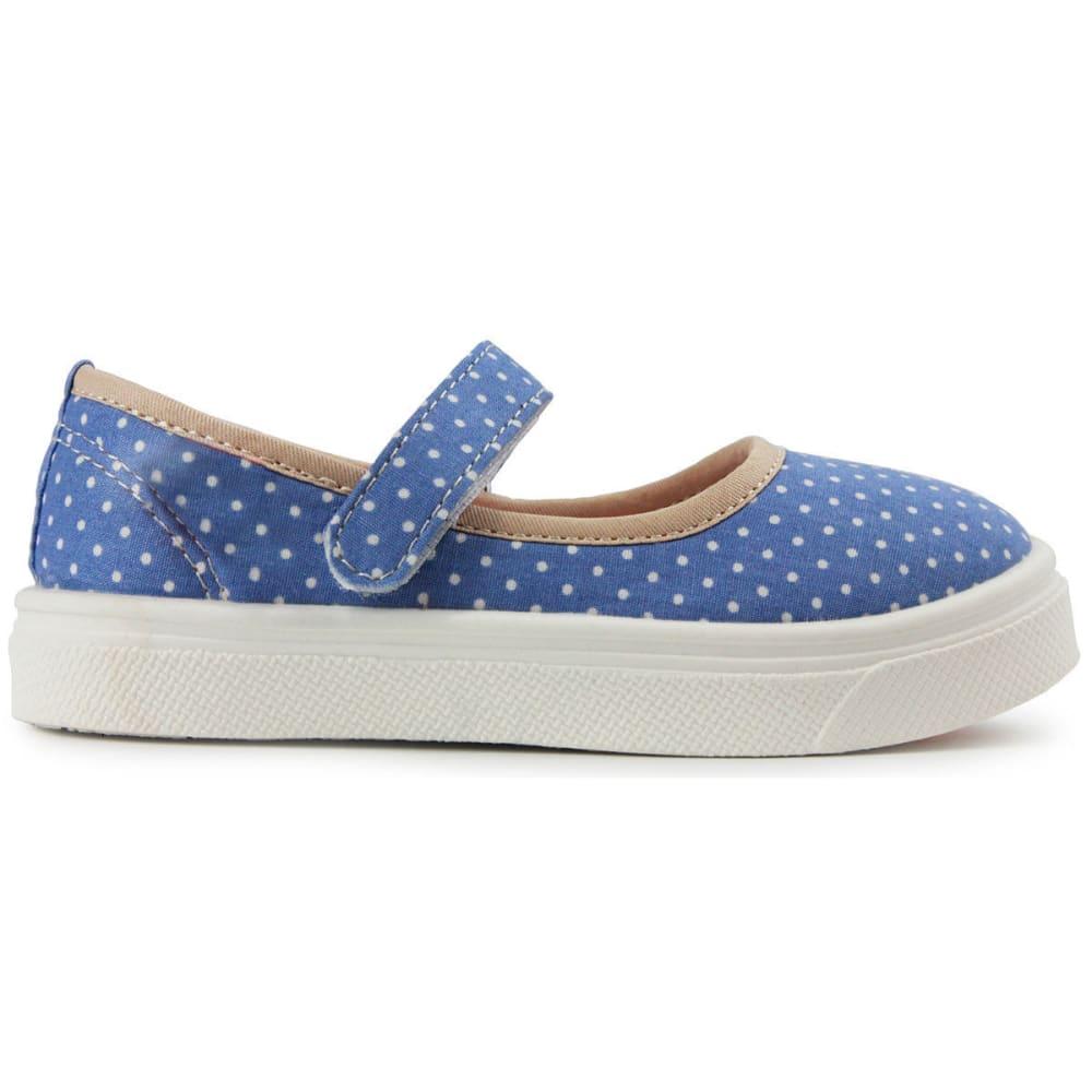 OOMPHIES Girls' Ginger Shoes, Light Blue - LIGHT BLUE