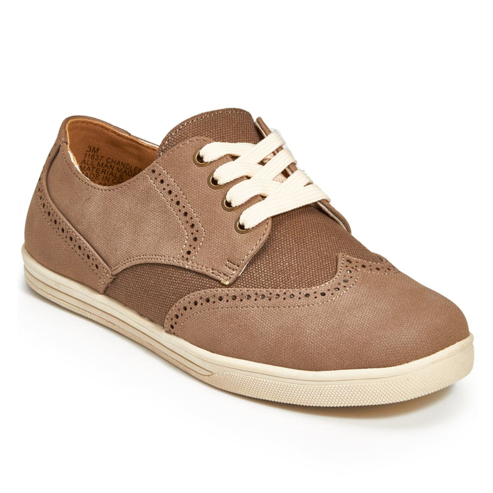 RACHEL SHOES Boys' Chandler Oxford Shoes, Taupe - TAN