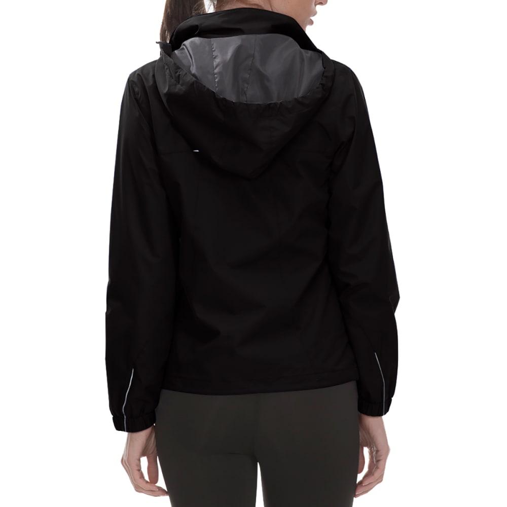 NEW BALANCE Women's Poly Dobby Mock Neck Jacket - BLACK-BK001