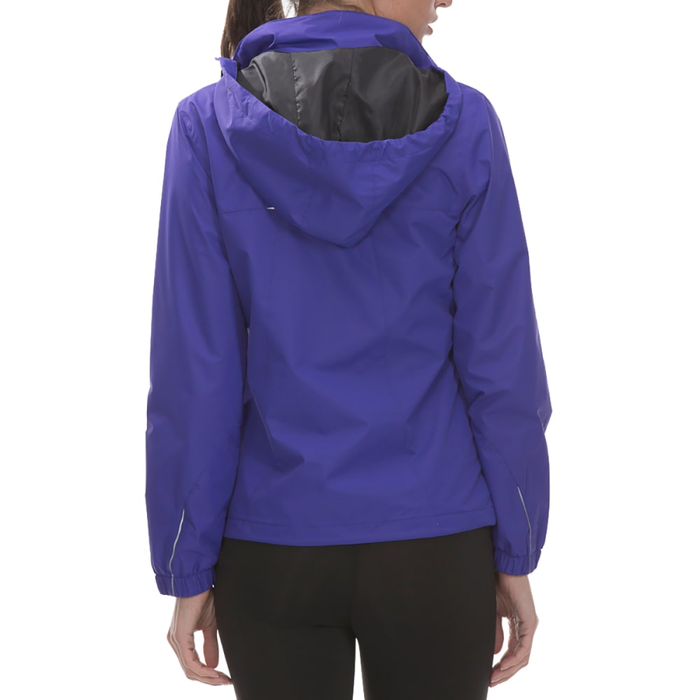NEW BALANCE Women's Poly Dobby Mock Neck Jacket - SPECTRAL-PU122