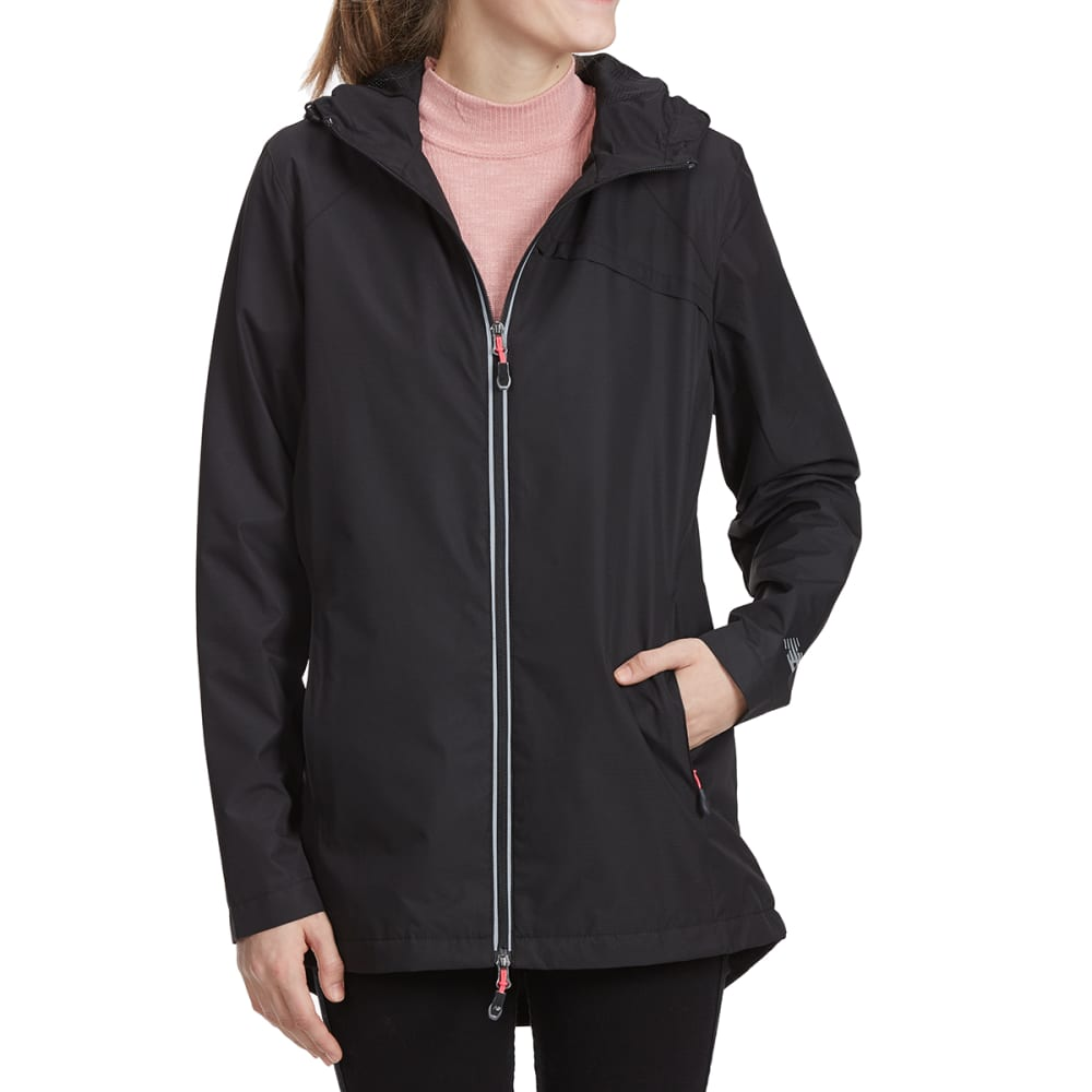 NEW BALANCE Women's Dobby Rain Jacket - BLACK-BK001
