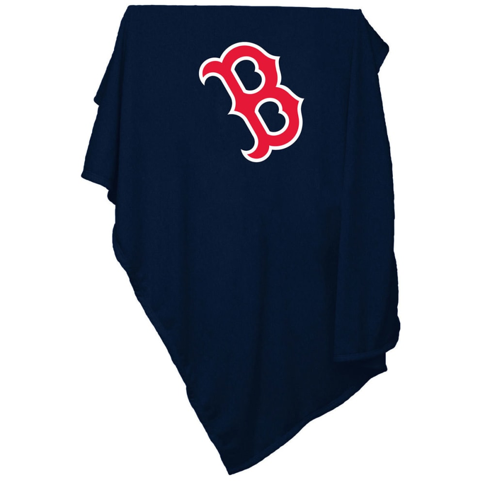 BOSTON RED SOX Sweatshirt Blanket - RED