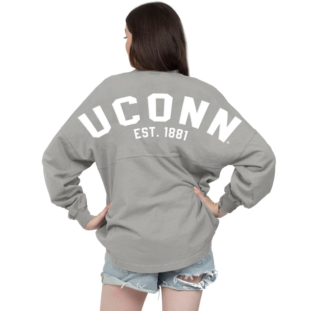 Uconn Women's Spirit Jersey - Black, L
