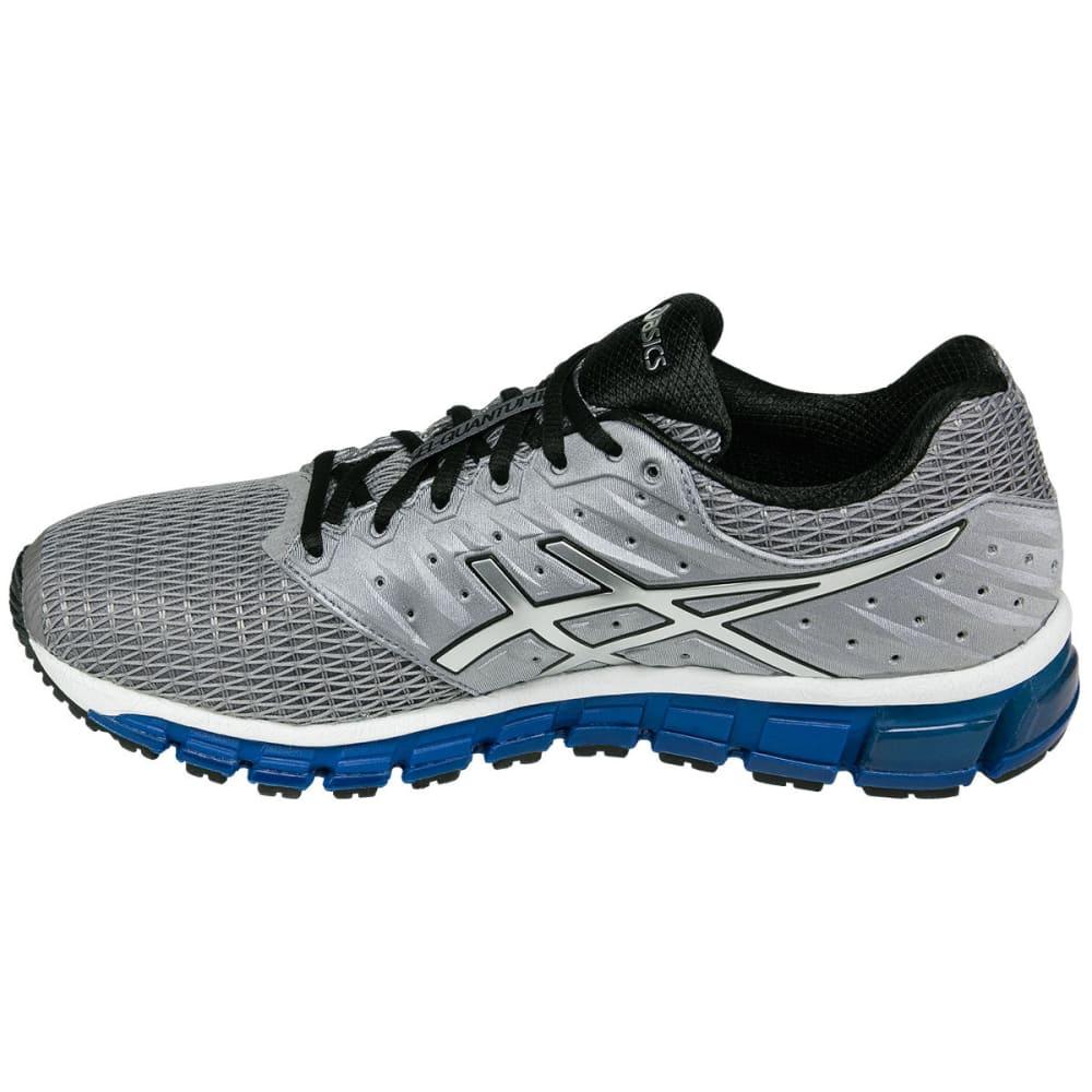 ASICS Men's GEL-Quantum 180 2 Running Shoes, Silver - ALUMINUM