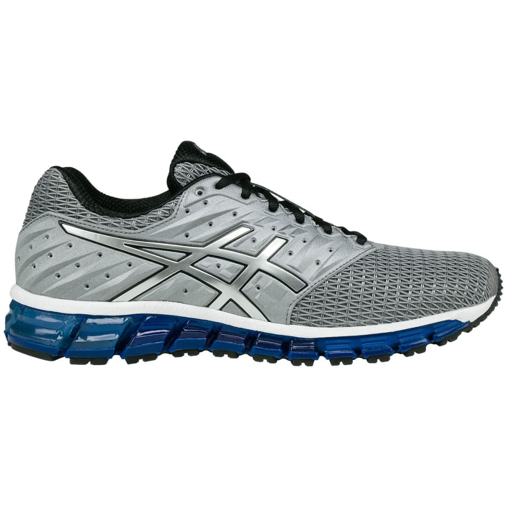 Asics Men's Gel-Quantum 180 2 Running Shoes, Silver - Black, 9.5
