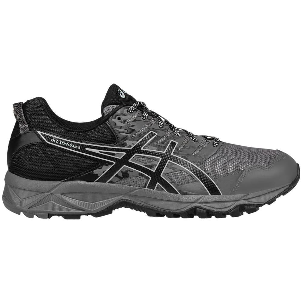 ASICS Men's GEL-Sonoma 3 Trail Running Shoes, Carbon 9.5