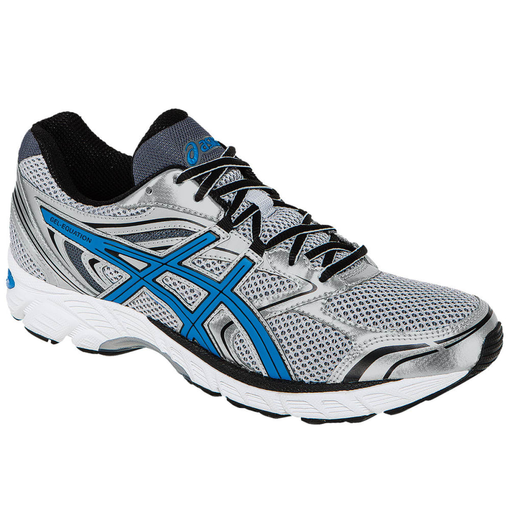 Asics Men's Gel-Equation 8 Running Shoes, Lightning - Black, 11