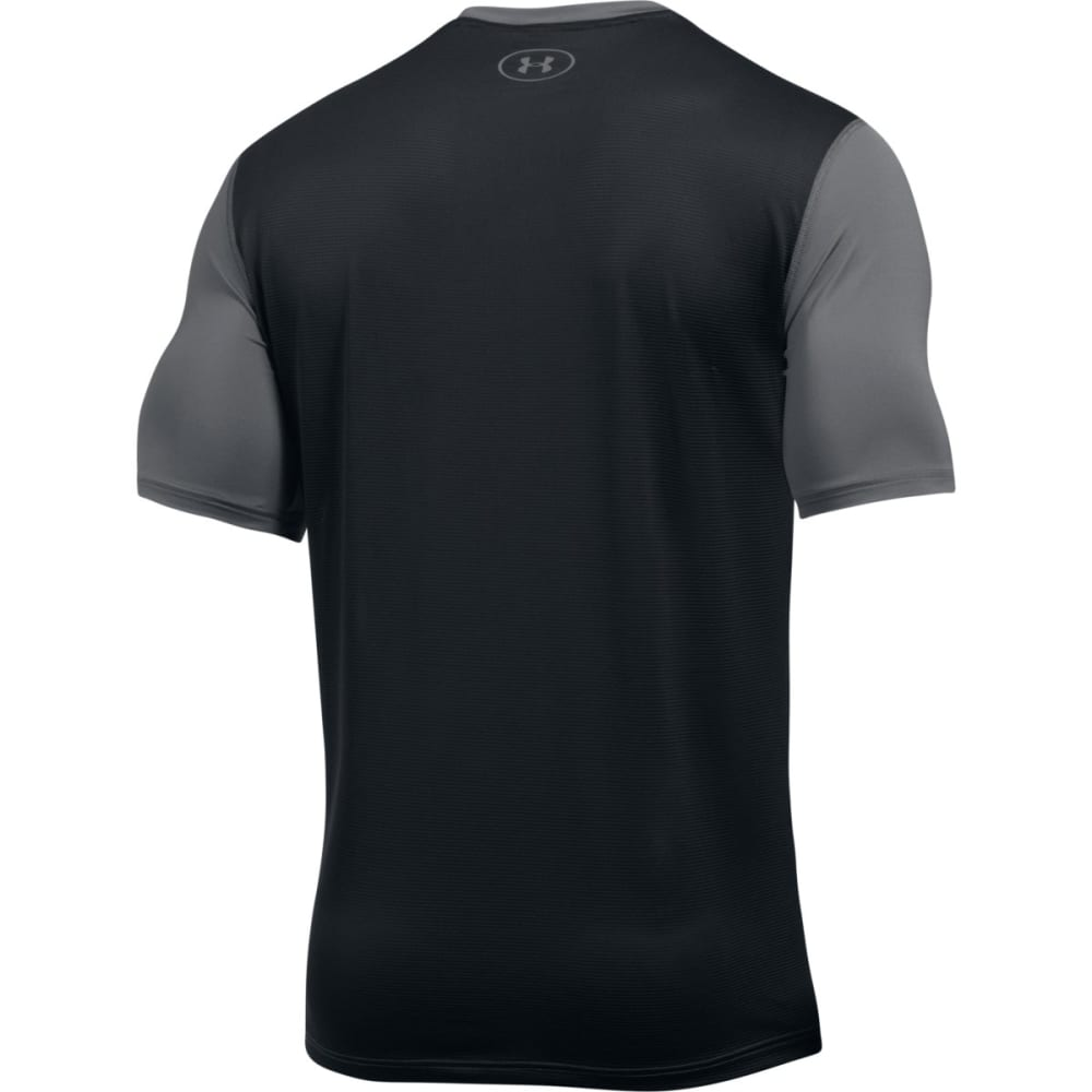 UNDER ARMOUR Men's UA Raid Graphic Short-Sleeve Tee - GRAPHITE/BLK-040