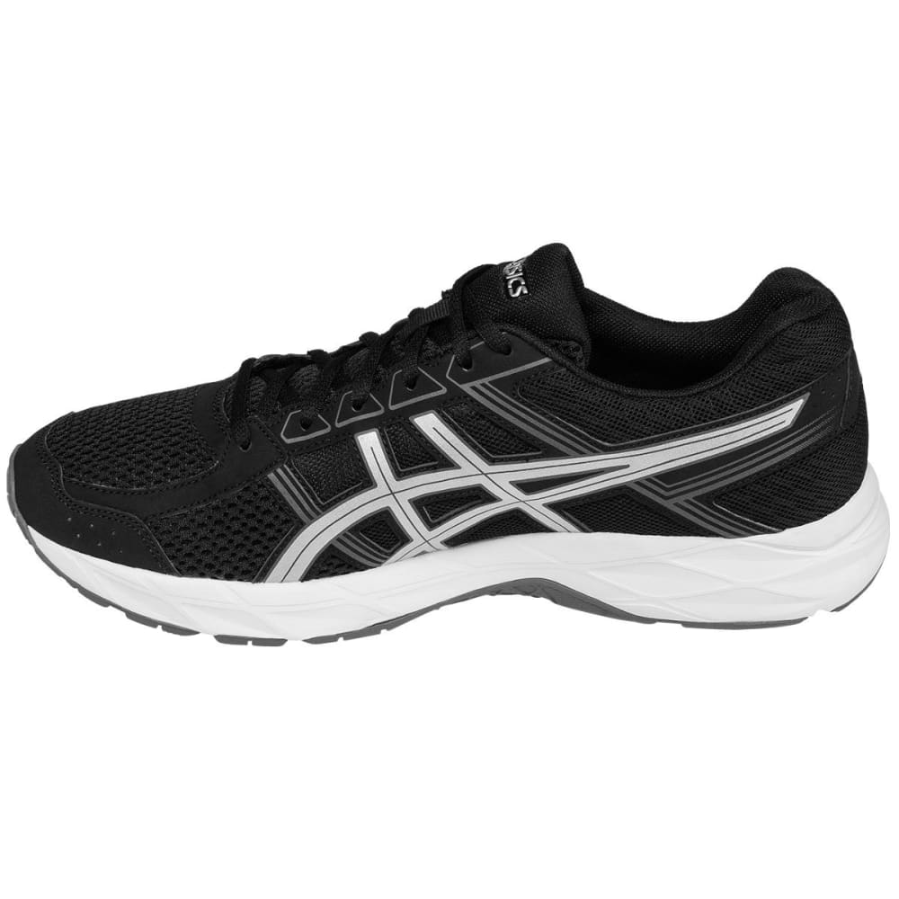 ASICS Men's GEL-Contend 4 Running Shoes, Black, Wide - BLACK