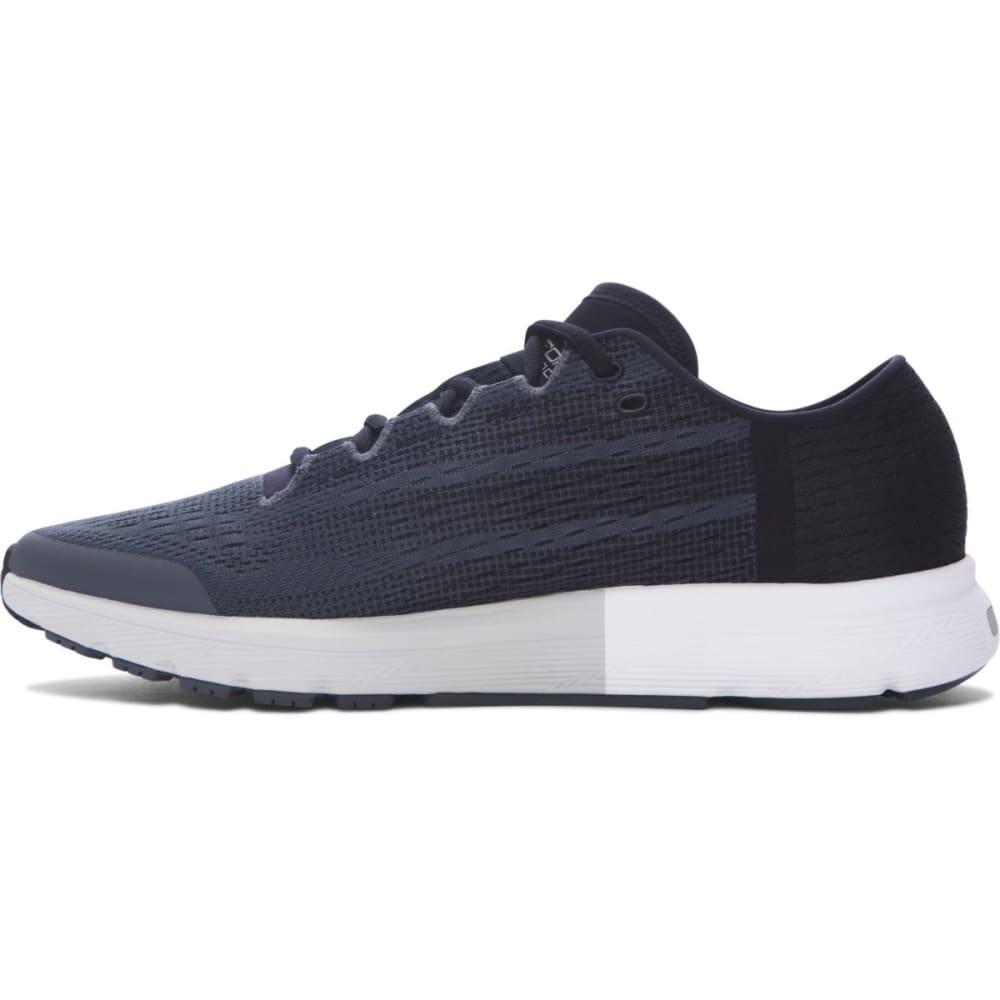 UNDER ARMOUR Men's UA SpeedForm Velociti Running Shoes, Rhino Grey/Glacier Grey/Black - GREY