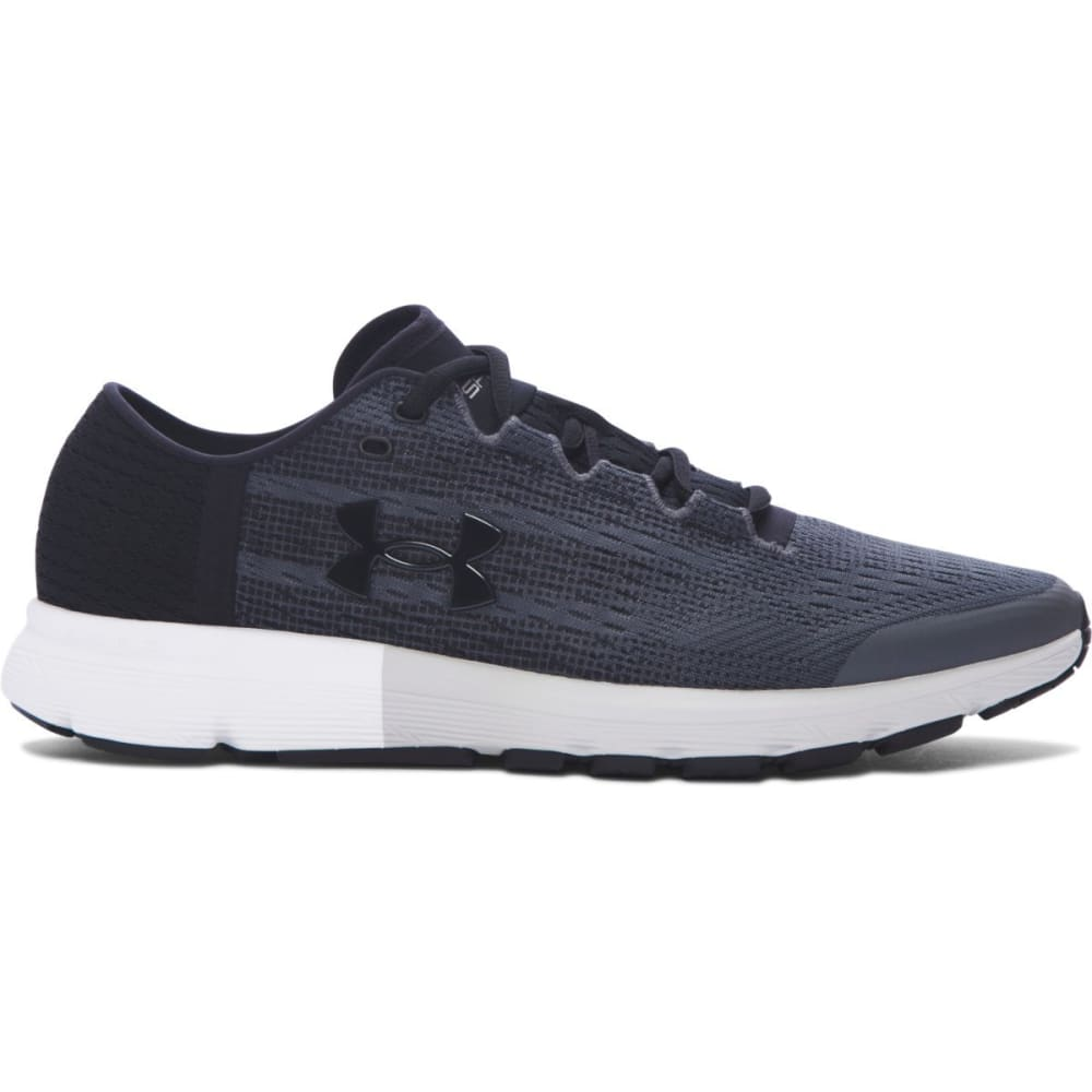 UNDER ARMOUR Men's UA SpeedForm® Velociti Running Shoes, Rhino Grey/Glacier Grey/Black - GREY