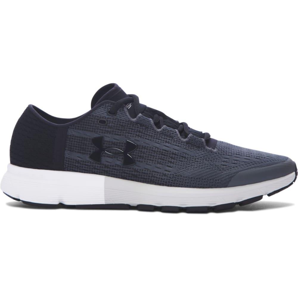 UNDER ARMOUR Men's UA SpeedForm® Velociti Running Shoes, Rhino Grey/Glacier Grey/Black - GREY