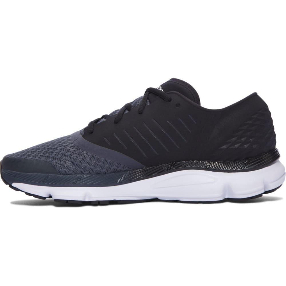 UNDER ARMOUR Men's SpeedForm Solstice Running Shoes, Black - BLACK