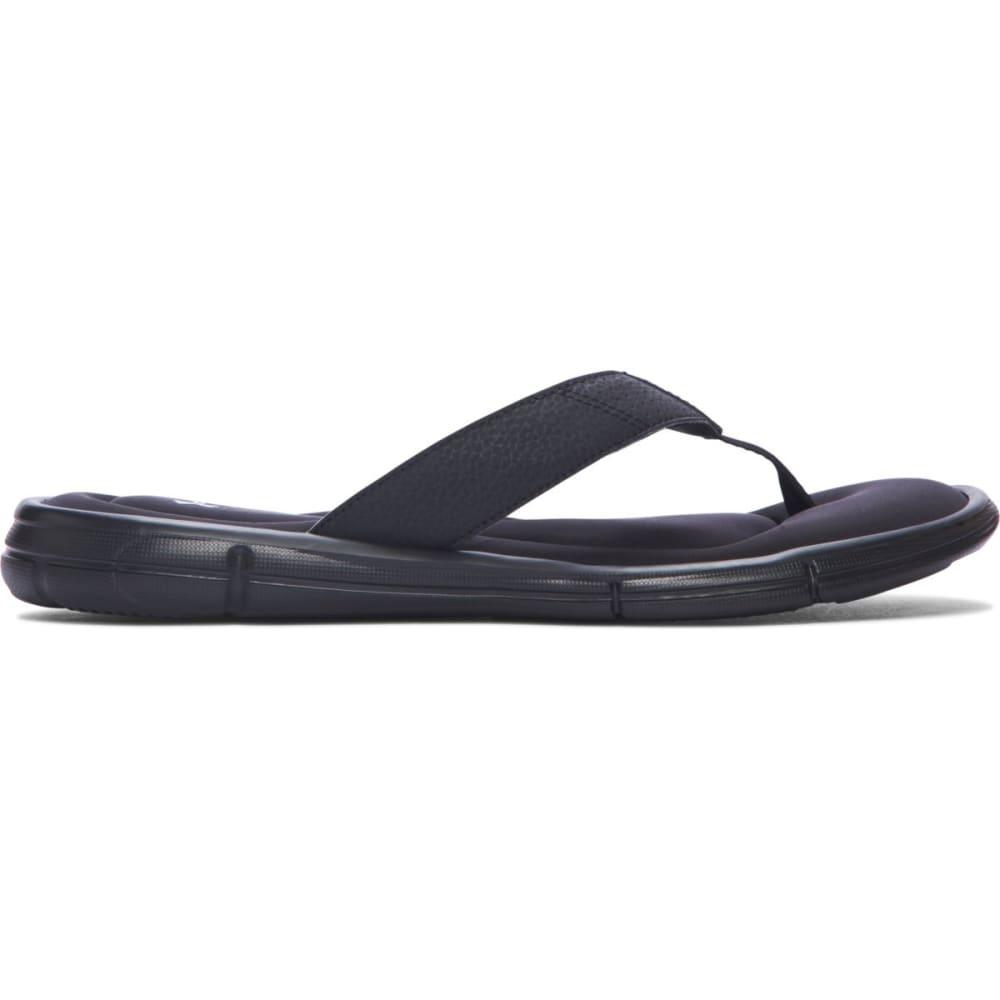UNDER ARMOUR Men's UA Ignite II Sandals, Black 7