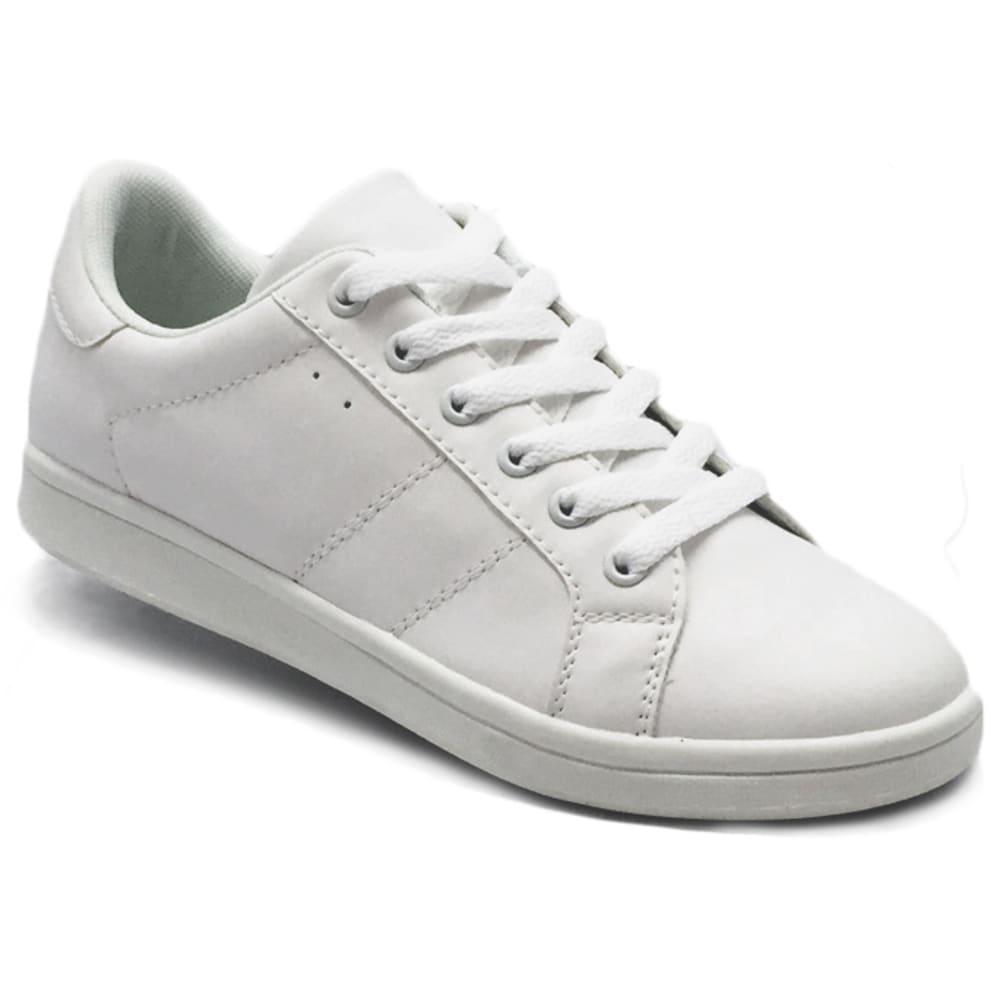 WILD DIVA Women's Casey-03 Sneakers - WHITE