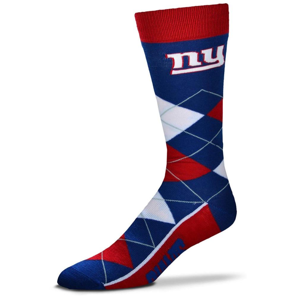NEW YORK GIANTS Men's Lineup Argyle Socks - ROYAL BLUE